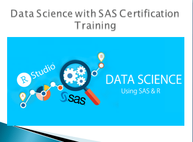 Data Science with SAS Certification Training