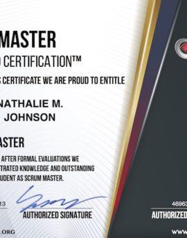 Paiement avance - Agile Scrum Master Certification
