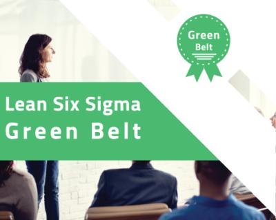 Formation à la certification Lean Six Sigma Green Belt