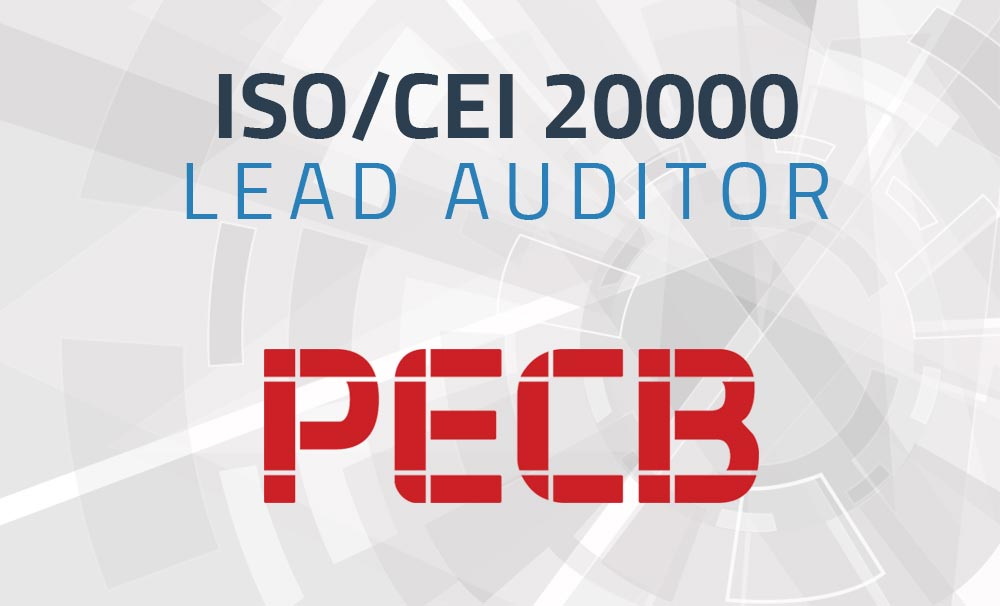 ISO/CEI 20000 Lead Auditor
