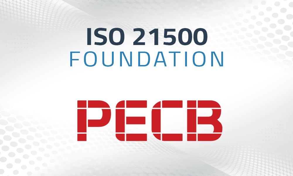 iso 21500 foundation