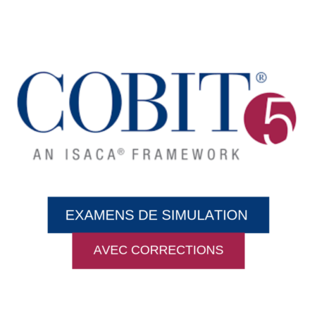 Examen de simulation COBIT 5 Foundation